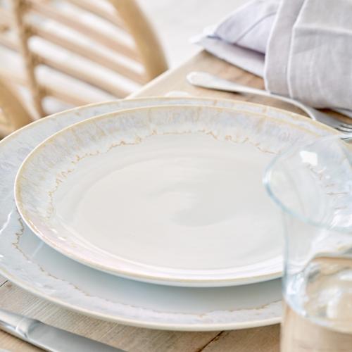 Taormina Set of 6 dinner plates, 27cm, White