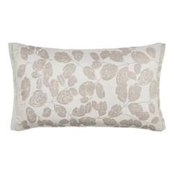 Lamele Cushion, L30 x W50cm, truffle