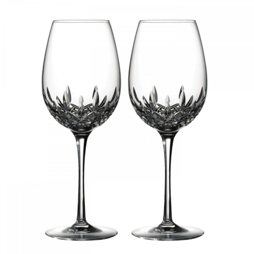 Lismore Essence Pair of red wine goblets