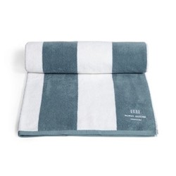 Chicago House pool towel, grey blue