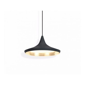 Beat Wide pendant light, H19 x L36x W36cm, black