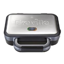 VST041 Deep fill sandwich toaster, 2 slice, Graphite & Stainless Steel