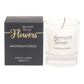Magnolia Citron Candle, white