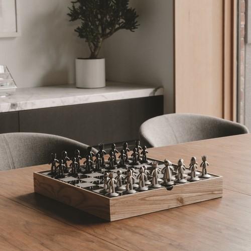 Buddy Chess set, Natural