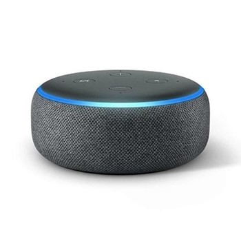 (2018) Echo Dot smart speaker, charcoal