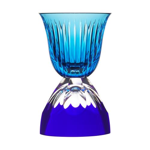 Les Endiables Chambord glass, blue