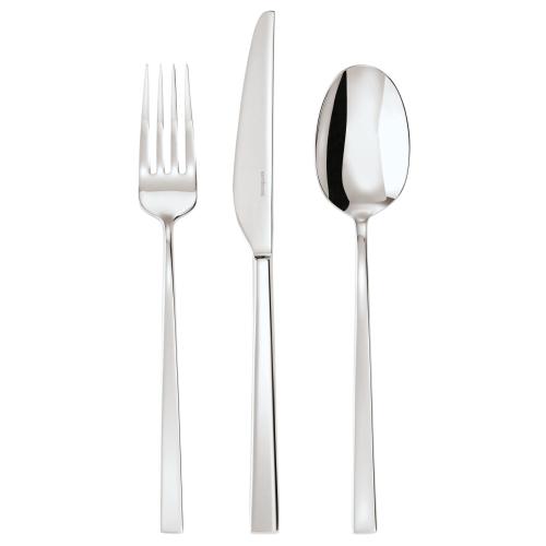 Linea Q Dessert spoon, stainless steel