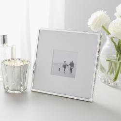 "Fine Silver Photograph frame, 3 x 3"""
