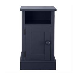 Charterhouse Bedside cabinet, H72 x W42 x D35cm, prussian blue