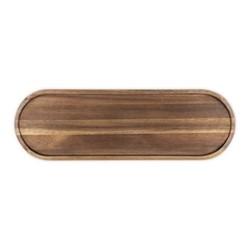 Signature Serving board, L46 x W15 x H2.5cm, dark wood