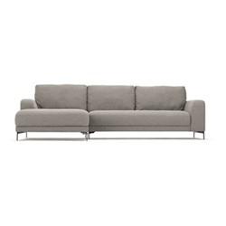 Luciano Left hand facing corner sofa, H80 x W273 x D96cm, mountain grey