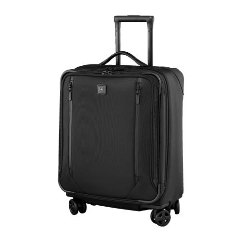 Lexicon 2.0 Dual caster wide body cabin case, H56 x W44 x D25cm, black