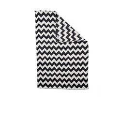 Chevy Baby blanket, 70 x 90cm, black/linen