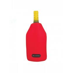 Wine cooler sleeve, Cerise