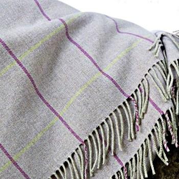 Merino wool throw 220 x 155cm