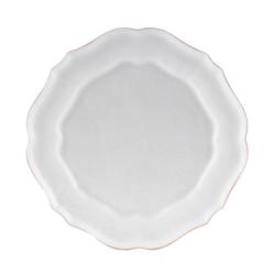 Impressions Set of 6 dinner plates, 29cm, white