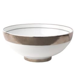 Dune Bowl, 17cm, platinum