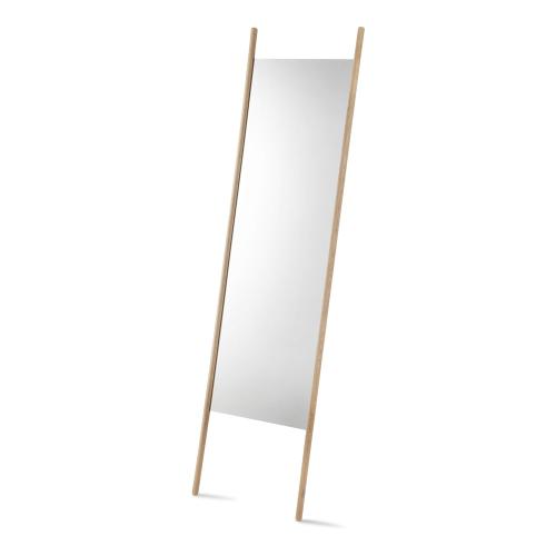 Georg Mirror, W55 x D3 x H190cm, Oak