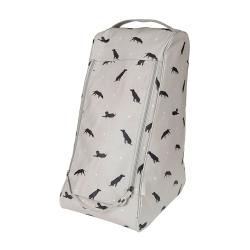 Labrador Boot bag, 40 x 35cm, Oilcloth