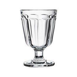 Anjou Set of 6 stemmed glasses, 28 cl, clear