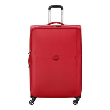 Mercure 4 wheel expandable trolley case, 79cm, red