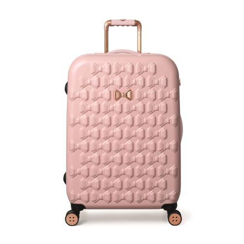 Beau Medium suitcase, L69 x W47.5 x D28cm, Pink