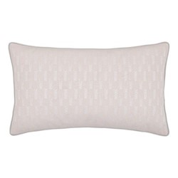 Misti Cushion, 50 x 30cm, blush