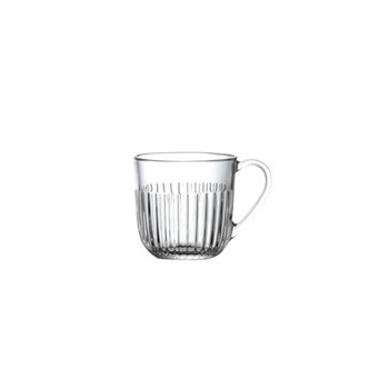 Ouessant Set of 6 mugs, 27cl, clear