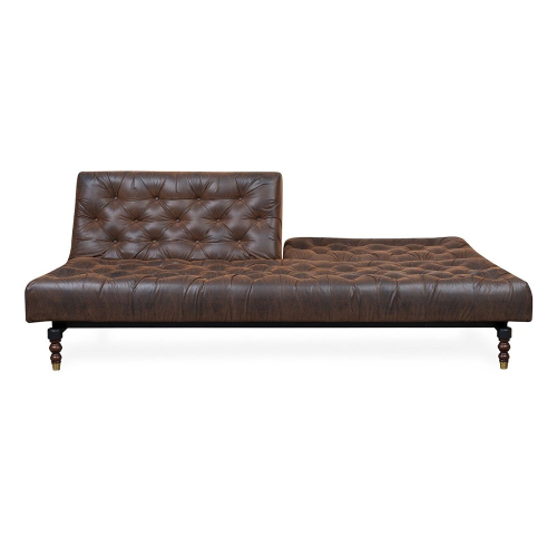 40 Winks Sofa bed, H79 x  W210 x D54cm, Brown