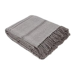 Oxford Stripe Throw, L230 x W130cm, tabby