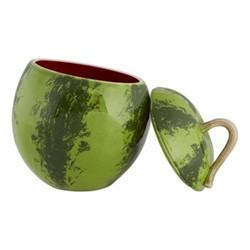 Watermelon Tureen, 4.5 litre - 30 x 22cm, red/green