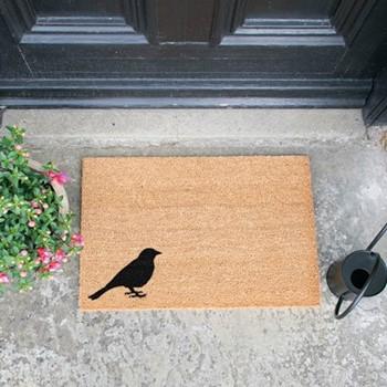 Bird Doormat , L60 x W40 x H1.5cm
