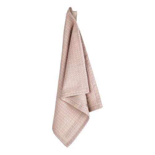 Pique Weave Kitchen wash cloth, 30 x 35cm, Stone Rose