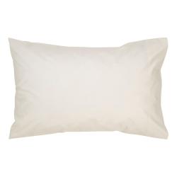 400 Thread Count Sateen Pair of standard rectangular pillowcases, L50 x W75cm, Linen
