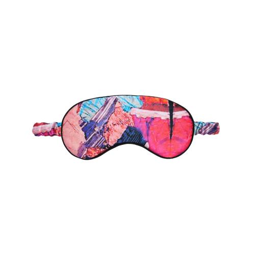 Twinning Crystal Silk eye mask, L19 x W9cm, Silk With Elasticated Band