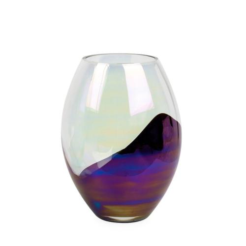 Slick Oval vase, H23.5 x W33cm, Multi