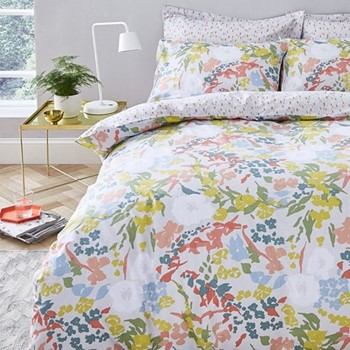 King size duvet cover and pillowcase set 220 x 230cm