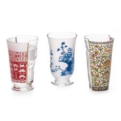Hybrid - Clarice Set of 3 cocktail glasses, H14.8cm