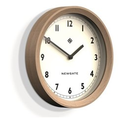 The General Wall clock, 44 x 7cm, solid oak