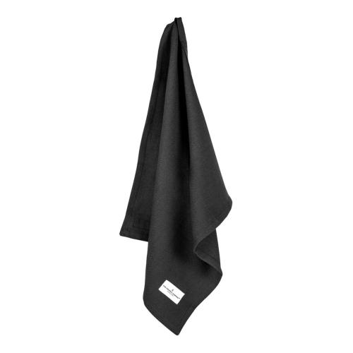 Herringbone Napkin, 40 x 50cm, Black
