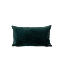 Misi Velvet cushion, 30 x 50cm, pine