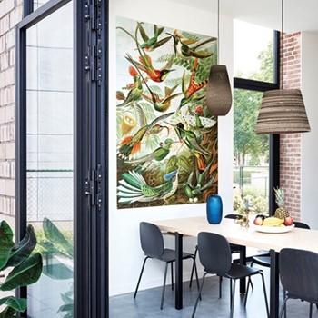 Art - Hummingbirds Wall decoration, 140 x 200cm