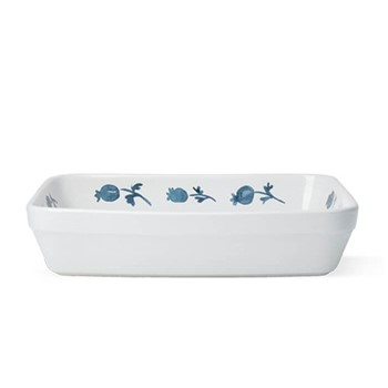 English Garden - Rose Hip Rectangular ovenware dish, W27.5 x D21.5 x H6cm