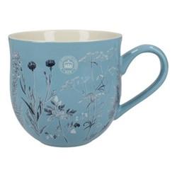Richmond - Watercolour Meadow Mug, H10cm - 500ml, blue