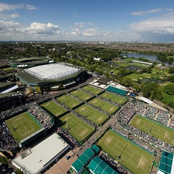 Wimbledon guided tennis tour and Michelin star lunch for two