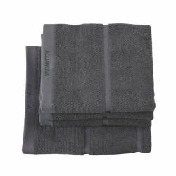Adagio Bath towel, 70 x 130cm, dark grey