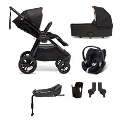 Ocarro 6 piece pushchair and car seat set, black diamond