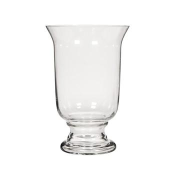 Newington Large hurricane vase, H40 x D26.5cm, clear