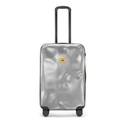 Icon Medium suitcase, H79 x W50 x D30cm, metal silver