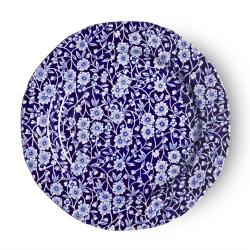 Calico Plate, 21.5cm, Blue
